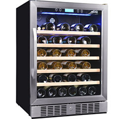 NewAir AWR-520SB 52 Bottle Compressor Wine Cooler