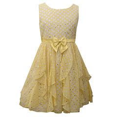 Bonnie Jean Yellow Cascade Dress - Girls' Plus