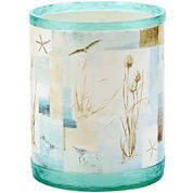 Avanti Blue Waters Wastebasket