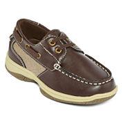 Okie Dokie® Brett Boys Boat Shoes - Toddler