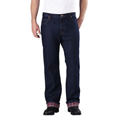 Dickies® Straight-Fit Flannel-Lined Jeans