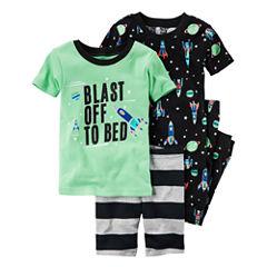Carter's 4-pc. Kids Pajama Set Boys