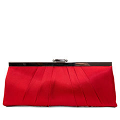 Gunne Sax® Pleats to Meet you Satin Clutch