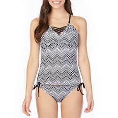 Arizona Chevron Tankini Swimsuit Top or Hipster Bottom-Juniors
