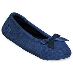 Isotoner® Terry Ballerina Slippers