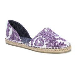 Muk Luks Karina Womens Slip-On Shoes