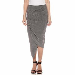 a.n.a Knit Wrap Skirt Talls