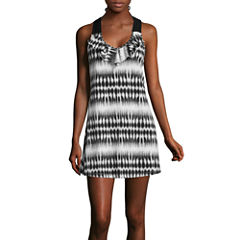 a.n.a® Sleeveless Ruffle-Front Dress