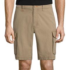 St. John's Bay Stretch Ripstop Cargo Shorts