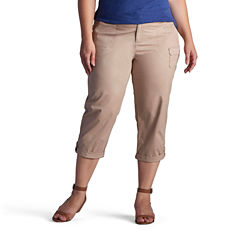 Lee Relaxed Carsen Capri-Plus