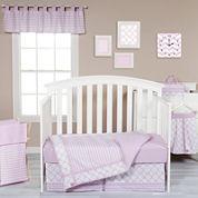 Trend Lab® Orchid Bloom 3-pc. Crib Bedding Set