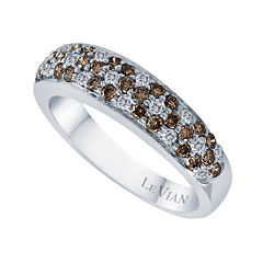 LIMITED QUANTITIES Le Vian Grand Sample Sale 3/4 CT. T.W. White and Chocolate Diamond Ring