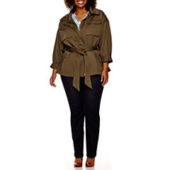 a.n.a® Cargo Anorak Jacket, V-Neck Blouse or Core Skinny Denim Pants - Plus