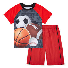 Jelli Fish Kids 2-pc. Sport Pajama Set Boys
