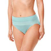 Warner's No Pinching, No Problems. Seamless High-Cut Panties - RT5501P