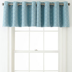 JCPenney Home™ Quinn Lattice Grommet-Top Insert Valance