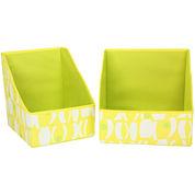 Household Essentials® 2-pc. Accessory Print Storage Bin Set