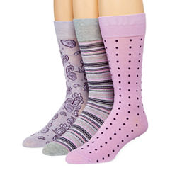 Stafford® Mens 3-pk. Cotton-Rich Crew Socks