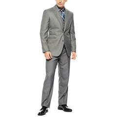 JF J. Ferrar® Gray Sharkskin Suit Separates - Classic Fit