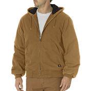 Dickies® Sanded Duck Hooded Jacket - Big & Tall