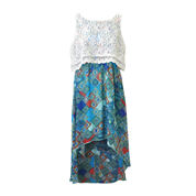 Lilt Lace Popover High-Low Dress - Girls 7-16