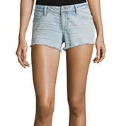 Arizona Raw Hem Denim Shorts