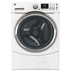 GE® ENERGY STAR®  4.3 DOE Cu. ft. High Efficiency Capacity Front-Load Washer