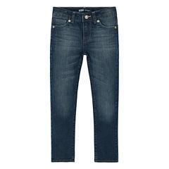 Levi's® Heart-Print Slim-Straight Jeans - Preschool Girls 4-6x