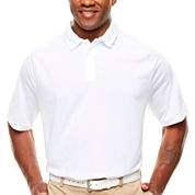 MSX By Michael Strahan Short Sleeve Stripe Polo Shirt Big and Tall