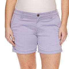 Arizona Midi Shorts-Juniors Plus