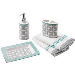 Intelligent Design Gwen 5-pc. Geometric Bath Accessory Set