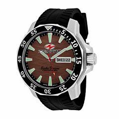 Sea-Pro Scuba Diver Limited Edition Mens Black Strap Watch-Sp8315