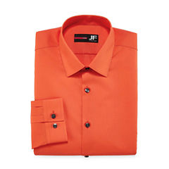 J.Ferrar Easy-Care Solid - Big & Tall Long Sleeve Dress Shirt