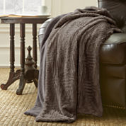 Pacific Coast Textiles Faux Fur Throw Throw