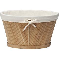 Creative Bath™ Eco Style Bamboo Small Oval Storage Basket