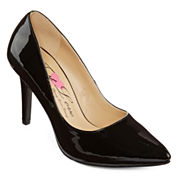 First Love Paris Patent Pumps - Wide Width