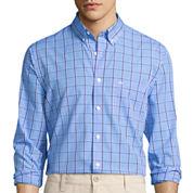 Dockers® Signature Long-Sleeve Check Printed Woven Shirt