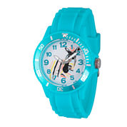 Disney The Little Mermaid Girls Red Strap Watch-Wds000048