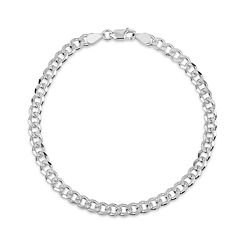 Made In Italy Sterling Silver 30 Inch Chain Necklace