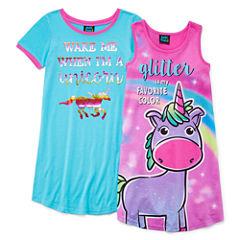 Jelli Fish Kids Nightgown-Big Kid Girls