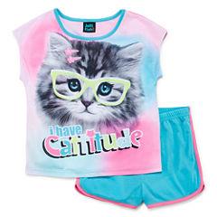 Jelli Fish Kids 2-pc. Kids Pajama Set Girls