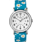 Timex Weekender Womens Blue Strap Watch-Tw2r240009j