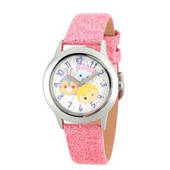 Disney Tsum Tsum Girls Pink Strap Watch-Wds000121