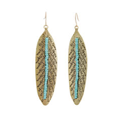 EL by Erica Lyons El By Erica Lyons Gold Over Brass Drop Earrings