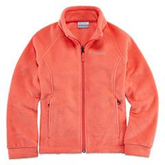 Columbia Sportswear Co. Girls Lightweight Fleece Jacket-Big Kid