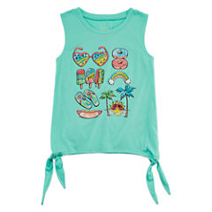 City Streets Side Tie Tank Top - Girls' 4-16