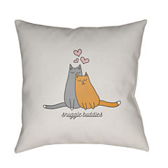 Decor 140 Snug Buddy Square Throw Pillow