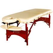 Master® Massage Caribbean Deluxe Memory Foam Massage Table Package