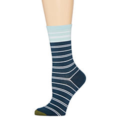 Gold Toe® Nautical Stripe Crew Socks