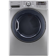 LG 7.4 cu. Ft. Ultra Large Capacity SteamDryer™ with NFC Tag On Technology